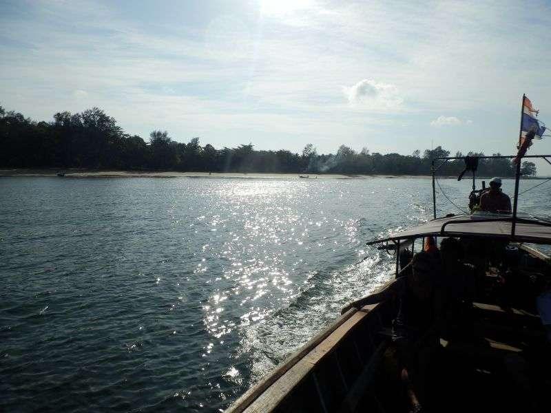 in der Morgensonne ein Rückblick auf Koh Jum