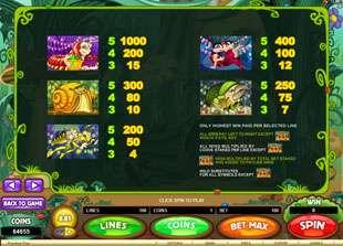Cashapillar Slots Payout