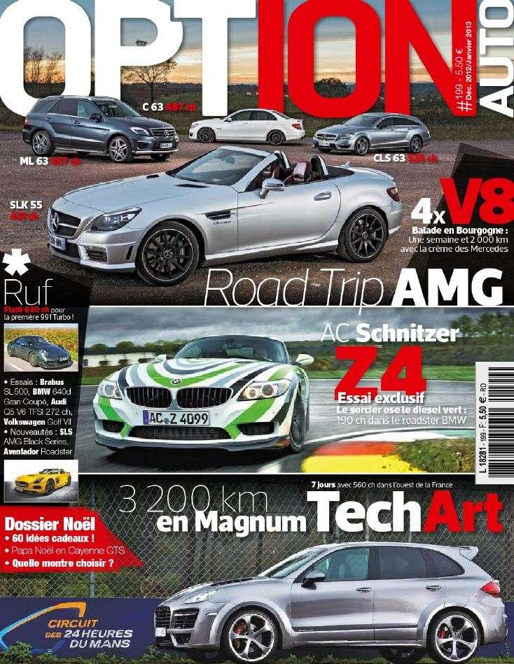 Option Auto N°199 Décembre 2012 Janvier 2013