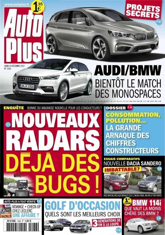 Auto Plus N°1266 du 10 au 16 Décembre 2012