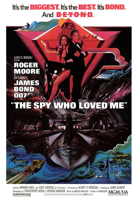 James Bond 007 The Spy Who Loved Me Poster