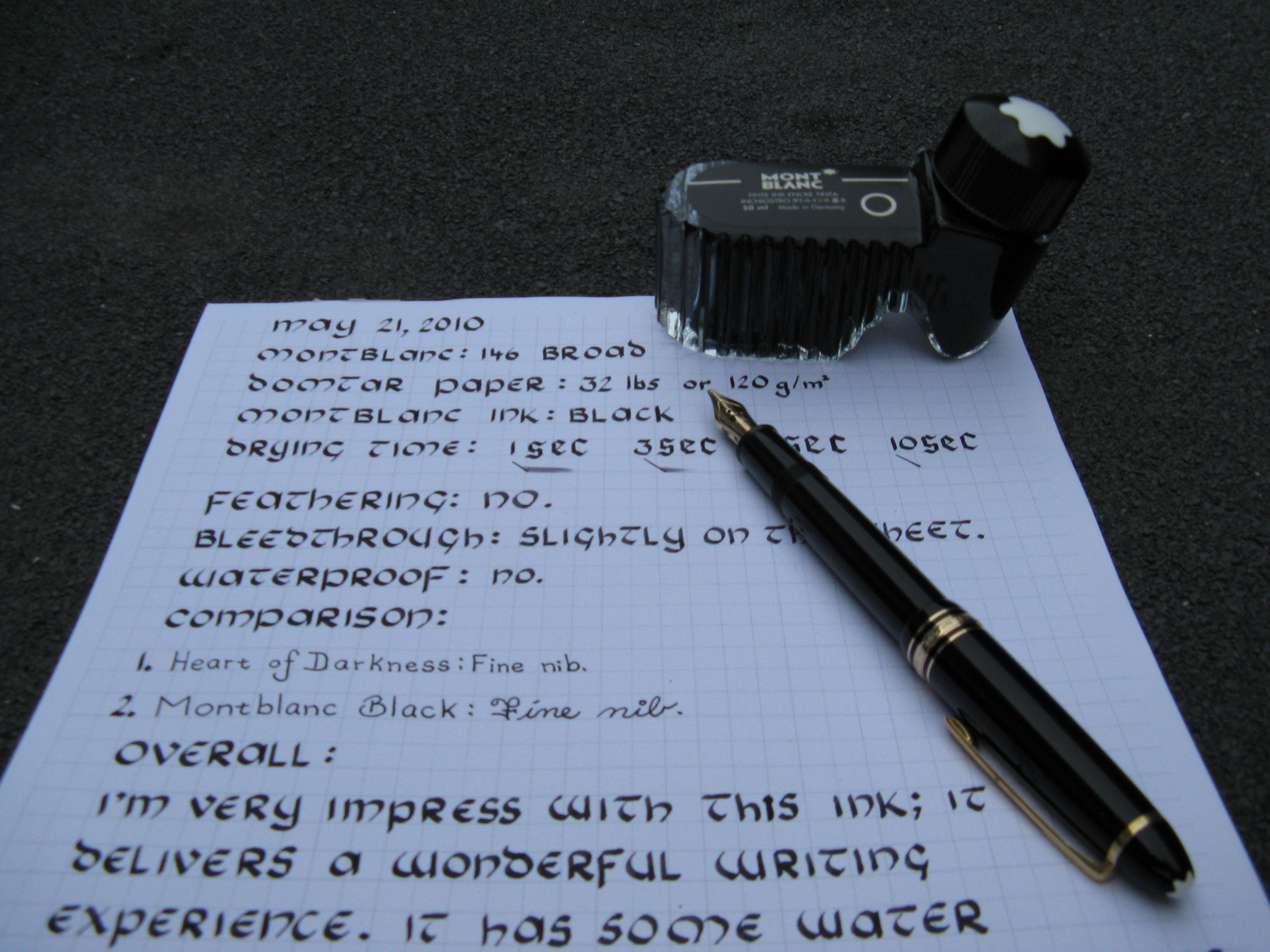 The Ink Bottle and the 146. Posted Image