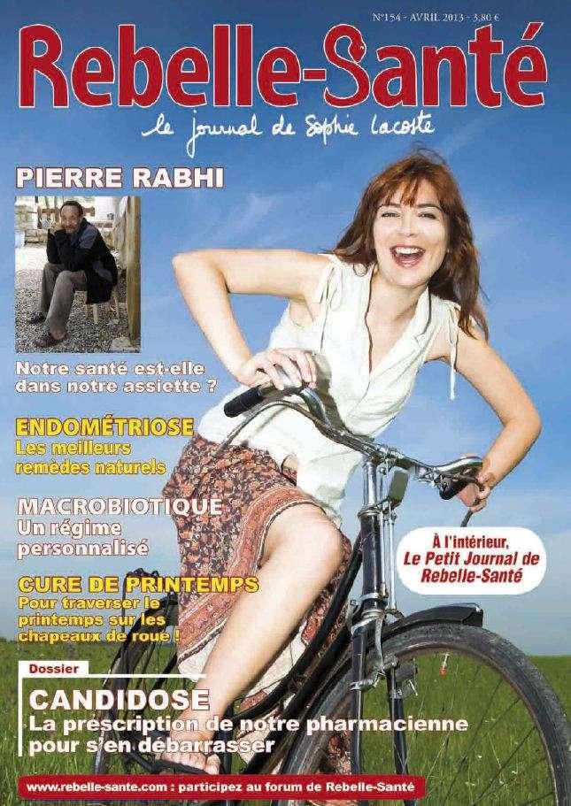 Rebelle Santé N°154 Avril 2013