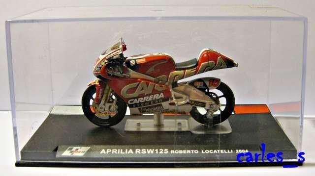Details about MOTO GP APRILIA RSW125 ROBERTO LOCATELLI 2004 ALTAYA