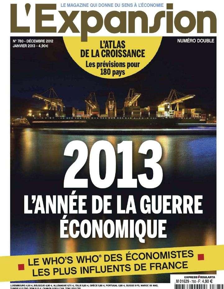 L'Expansion N°780 Décembre 2012 Janvier 2013