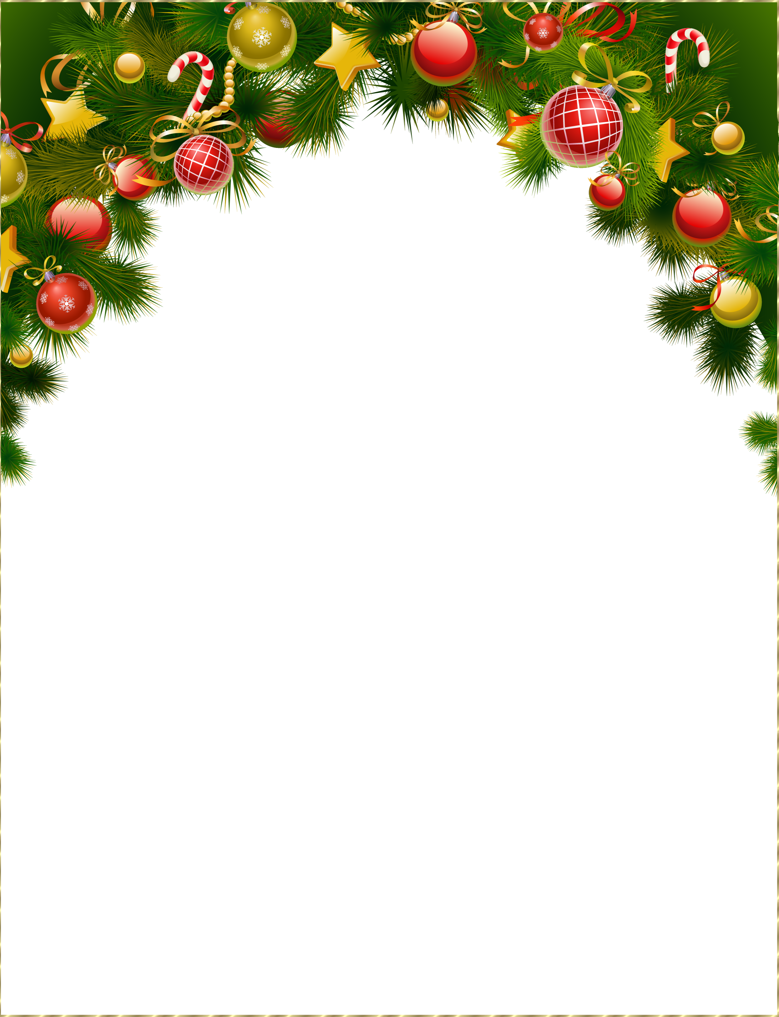 Christmas Frame Png image gallery