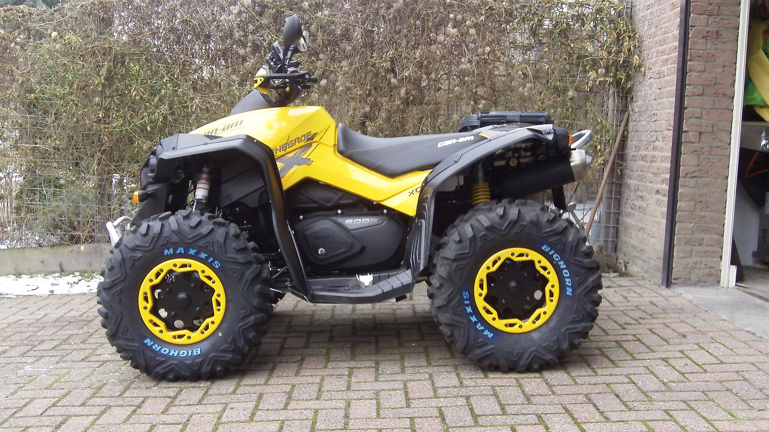 Xxc Wheels Renegade Discussion Can Am Atv Forums Can