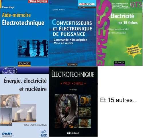 Livres d'Electrotechnique et Electricite